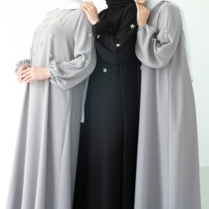 Beaded Kaftan Abaya Dress 1 Featured