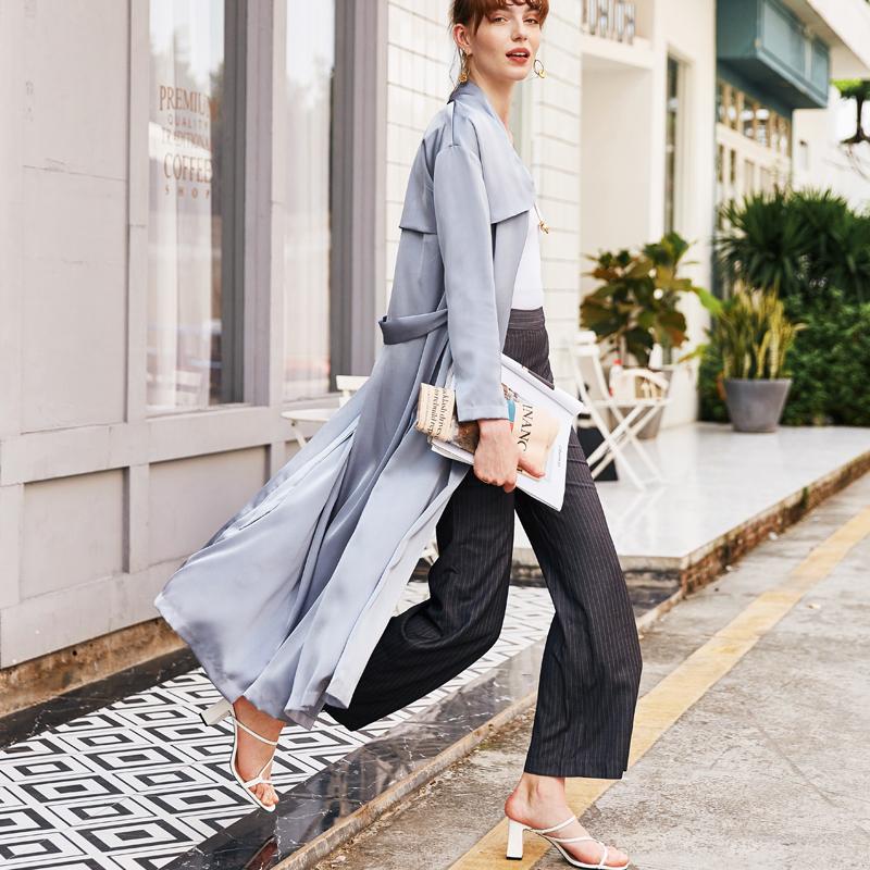 Icy Blue Summer Luxury Cardigan Kimono 4