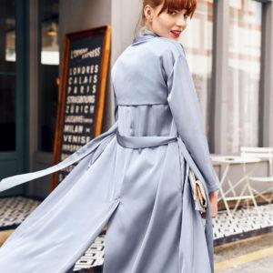 Icy Blue Summer Luxury Cardigan Kimono Featured