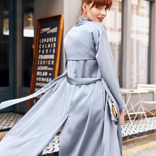 Icy Blue Summer Luxury Cardigan Kimono
