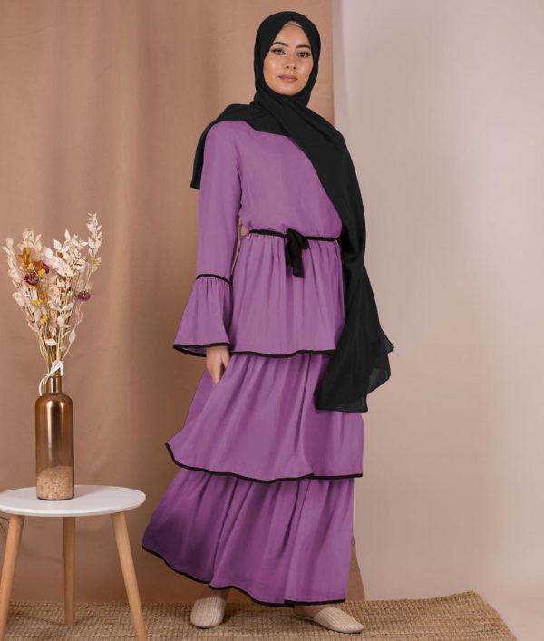 Layered Ruffle Summer Dress