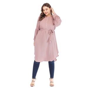 Plus Size Pearl Long Sleeve Tunic 3 Featured