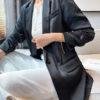 Silky Classic-Fit Blazer Jacket