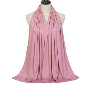 Cotton Jersey Hijab 2 Pink