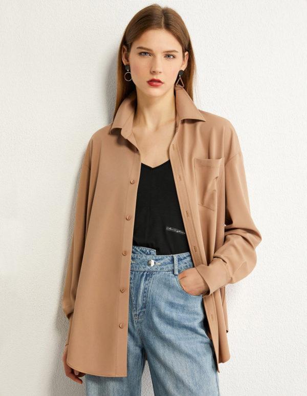 Minimalist Oversized Blouse