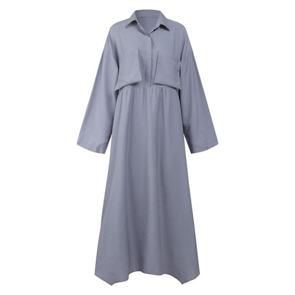 Retro Modest Ankle Length Dress
