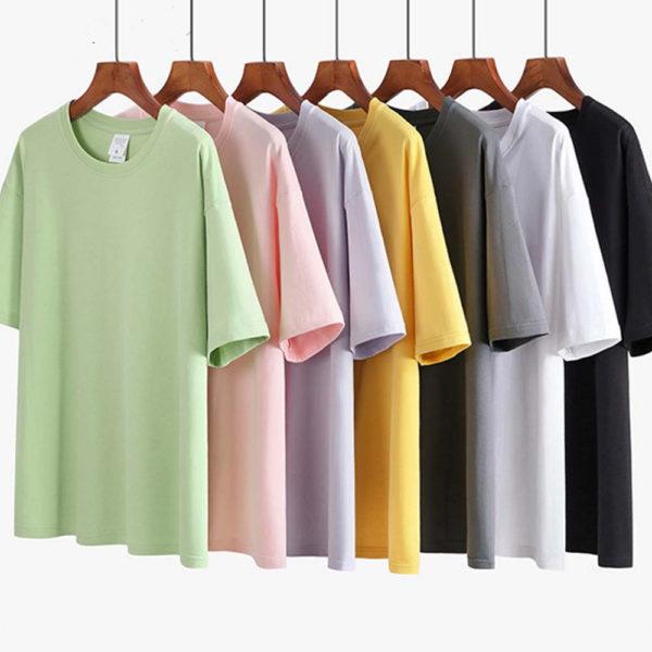 Crew Neck Drop Shoulder T-Shirt