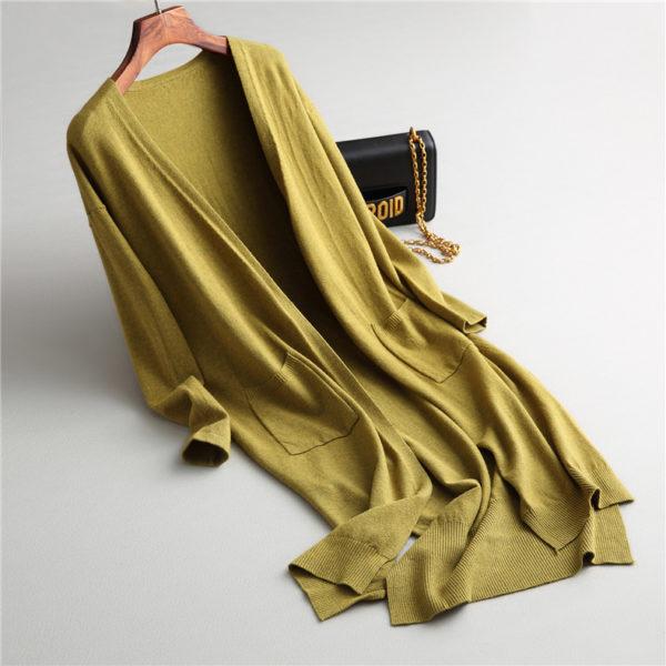 Solid Knit Cardigan