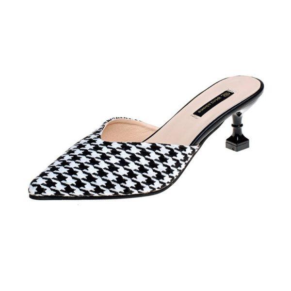 Stiletto Slip On Heels