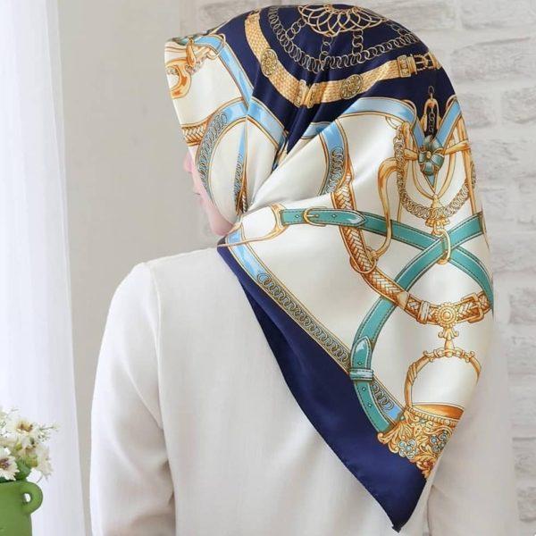 Vintage Silky Square Hijab