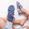 Double Decker Rope Strap Platform Sandals