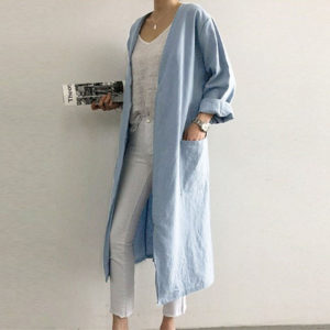Open Front Loose cardigan jacket 2