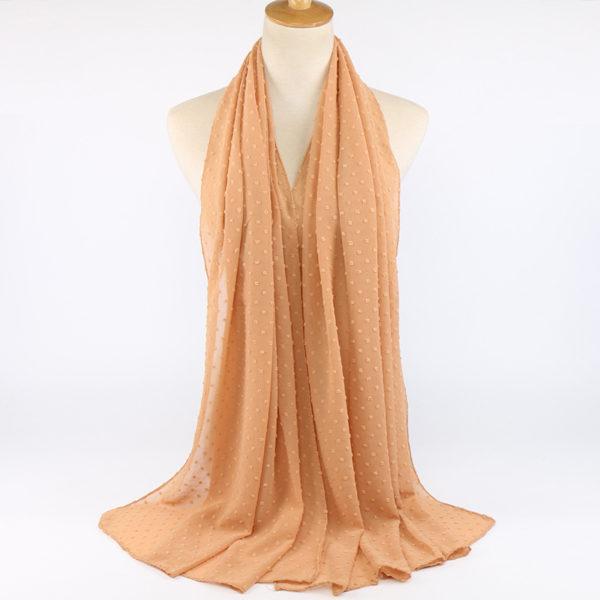 Pompom Chiffon Hijab