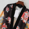 Floral Belted Kimono Cardigan