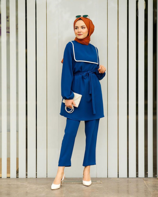 Casual-Chic Two Piece Tunic Set