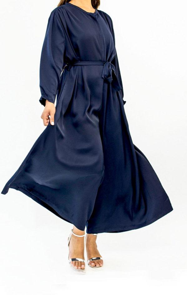 Silky Long Sleeve Jumpsuit
