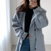 Longline Double Breasted Trench Coat